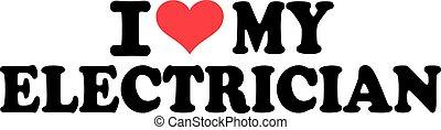 I heart my electrician
