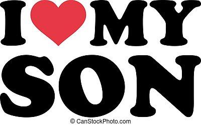 I heart my son