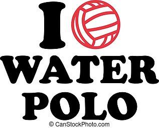 I heart water polo