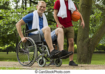 I just found a new hobby - Shot of a young man using...