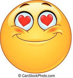 i kärlek, emoticon