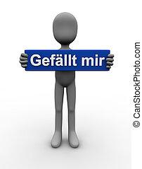I like - german