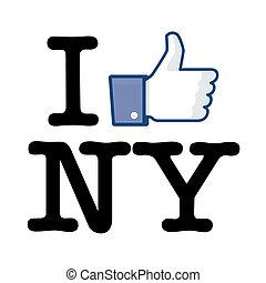 I Like New York jacking of I love NY