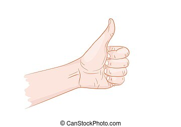 I like thumb up