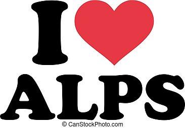 I love alps