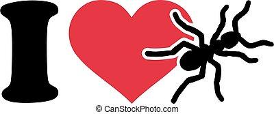 I love Ants Icon