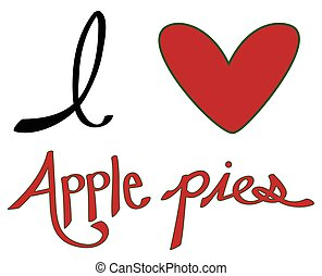 I Love Apple Pies