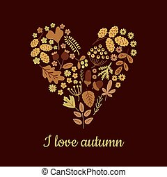 i love autumn