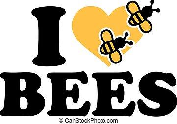 I love Bees icon