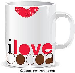 I love cocoa mug