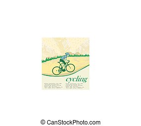 i love cycling banner