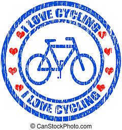 I love cycling