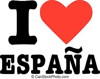 I love espana - spain