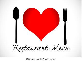 I Love Food idea