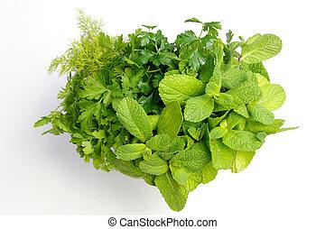 I love fresh herbs