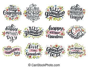I love grandma. Best granny ever. Happy mother's day. First ...