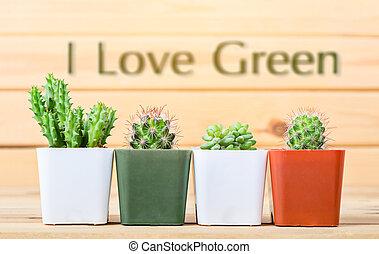 I love green concept.