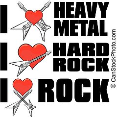 i love heavy metal rock