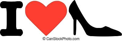I love high heels