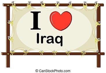 I love Irag