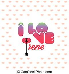 I love Irene