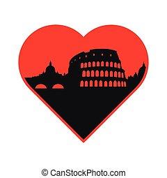 i love Italy template