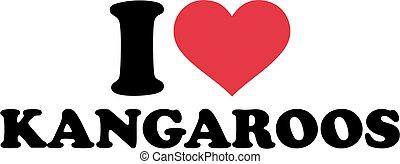 I love kangaroos
