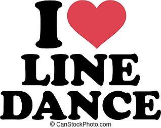 I love Line dance