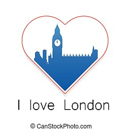 i love London template
