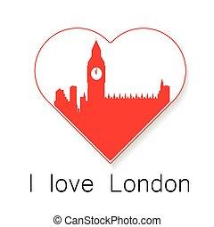 i love London template