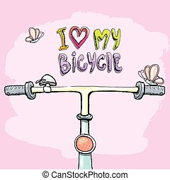 I love my bicycle concept design.