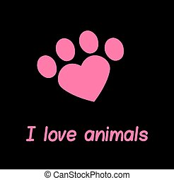I love my dog or cat