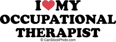 I love my occupational therapist