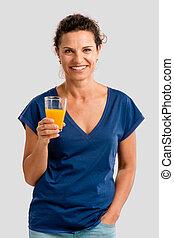 I love my orange juice
