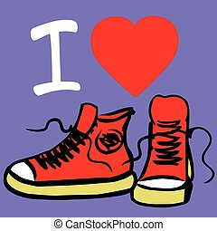 I love my sneakers