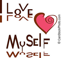 I love myself.eps