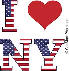 I love New York banner