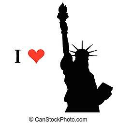 i love new york icon vector