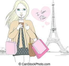 I Love Paris Girl