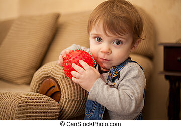 I love playing with my ball