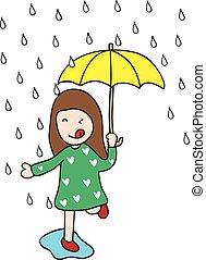 rainy - I love rainy season