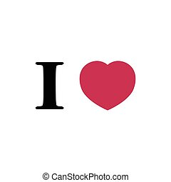 I love red heart
