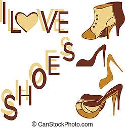 I LOVE SHOES.eps