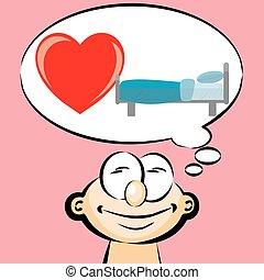 I love sleeping - emoticon