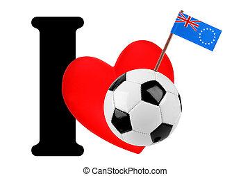 I love soccer ball