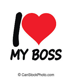 I love the boss
