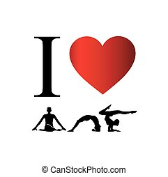 I love yoga and meditation