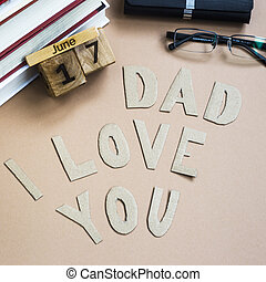 I love you dad congratulations on father's day