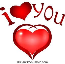 "i love you - ""I Love you'. heart symbol"