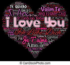 love gift card valentine s day words i love you in four